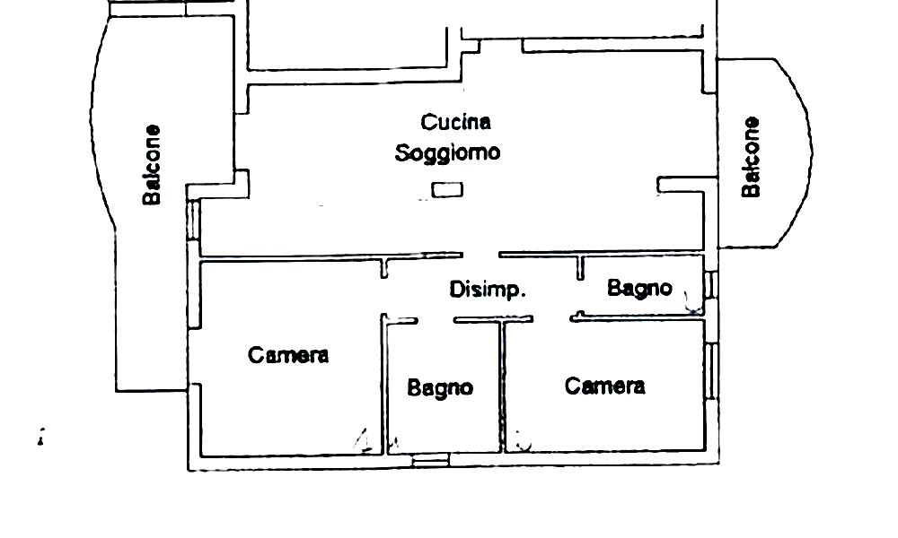 Piantine case piantine case with piantine case sul fiume - Disegnare piantina casa ...