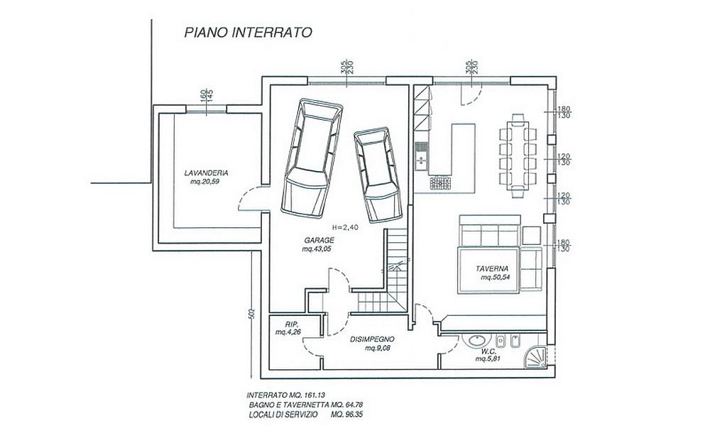 Edifica immobiliare compra e vendita immobili villa for Piano casa con garage