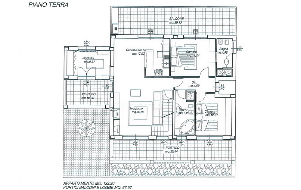 Piantine ville di lusso ingegnere graziano fraiese for Come progettare una pianta del piano interrato
