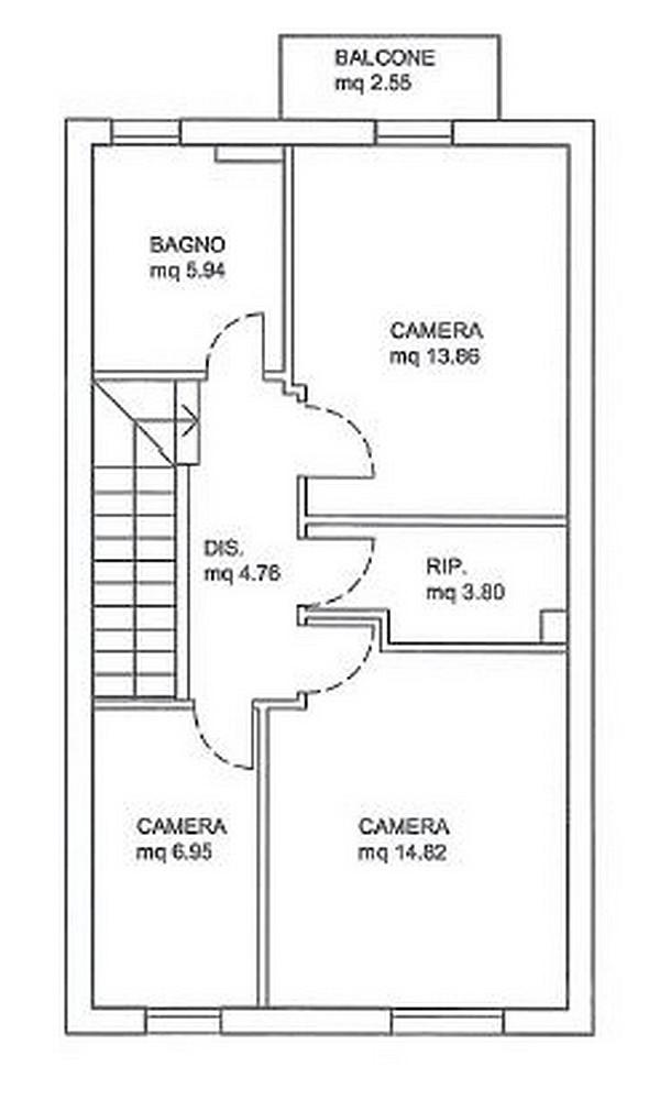Edifica immobiliare compra e vendita immobili villa verucchio rimini casa schiera - Casa a schiera progetto ...