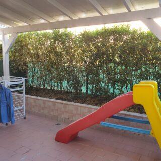 Casa schiera a Villa Verucchio con ampio pergolato
